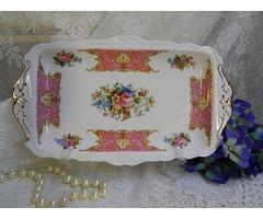Royal Albert porcelán tál