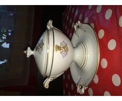 Hüttl Tivadar porcelán szószos tál