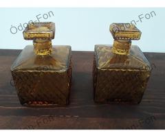 Parfümös üveg pár