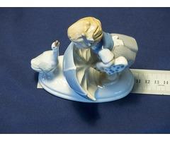 1952-es porcelán figura, Carl Schneiders Germany