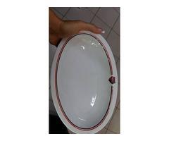 PMSC tányér