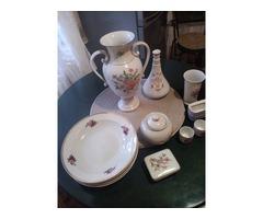 Hollóházi porcelánok eladóak egyben és külön külön is!