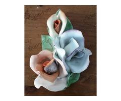 Porcelán virág