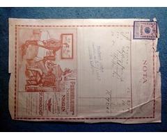 Bolti számlák 1915-17.