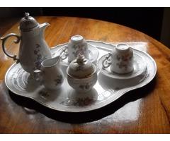 Hollóházi 1831 jelölt és számozott kávéskészlet!