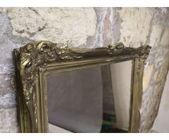 Hibátlan állapotú antik tükör