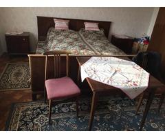 Antik ágy, bútor, szekrény