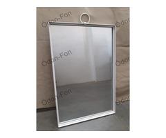 Téglalap alakú tükör kovácsoltvas kerettel