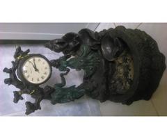 Bronz szobor, ora es szokokut