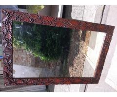 Hatalmas Antik tükör! 160cm hosszú 104cm széles!