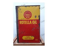 Shell Rotella olajos doboz
