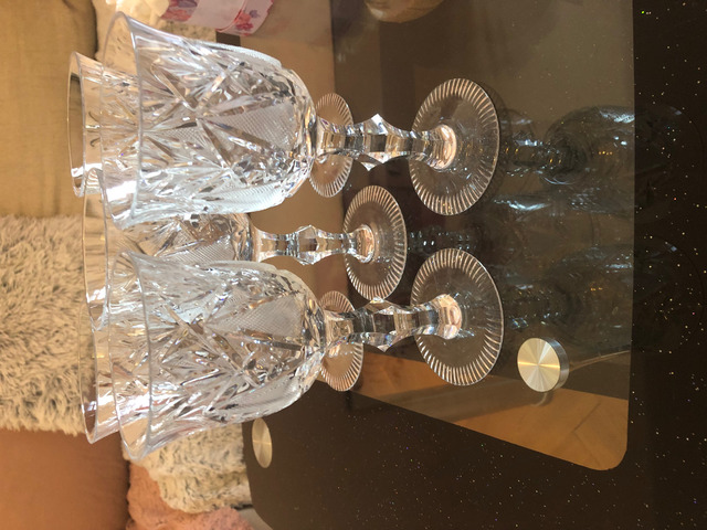 5db ólomkristály pohár