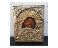 Orosz Ikonfestő – Keresztelő Szent János ikon