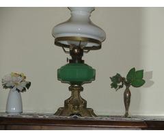Sárgaréz állólámpa