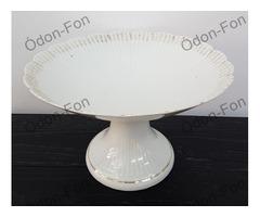 Porcelán süteményes tál