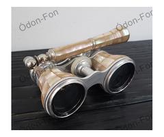 Gyöngyházborítású látcső teleszkópos fogóval