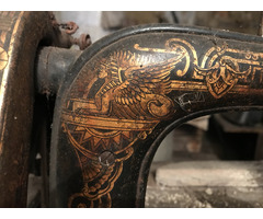 Singer antik varrógép