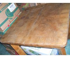 Antik nyitható asztal