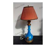 Kinaizáló kék asztali lámpa