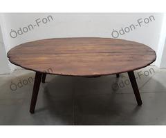 Asztal dézsa alj lappal