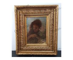 Baditz Ottó – Női portré