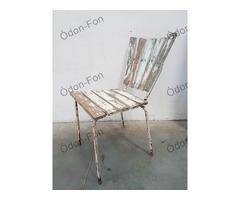 Fehér kerti szék