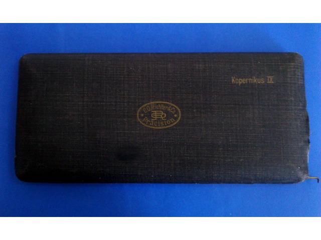 Antik körző készlet eladó Kopernikus IX.