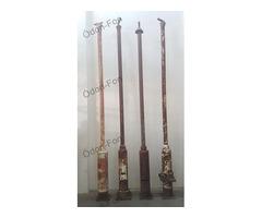 4 darab utcai lámpaoszlop