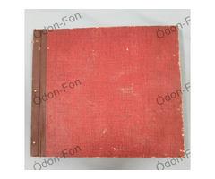 Bakelitlemez tartó - piros
