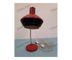 Bordó retró asztali lámpa