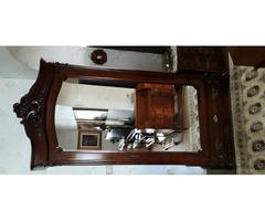 Bécsi barokk tükrös szekrény