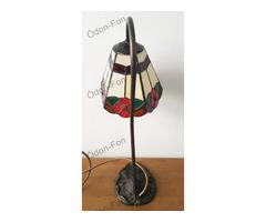 Szecessziós stílusú asztali lámpa