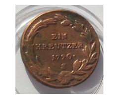 1790s Ein Kreutzer