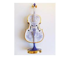 Porcelán hegedű (keresem!)