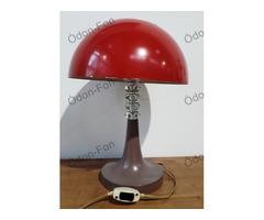 Piros burás retró asztali lámpa