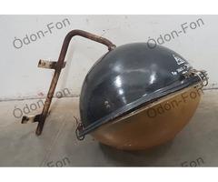 EKA Ipari lámpa fali vas konzollal