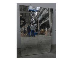 6 kazettás antikolt tükör 4db