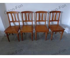4 db fa szék