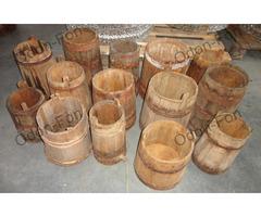 Fa tároló edények 12 db