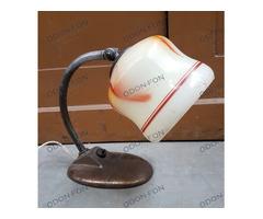 Asztali lámpa márvány mintás burával