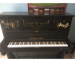 Lauberger és Gloss pianínó 1903-as, Bécs