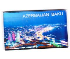 Hűtőmágnes Bakuból