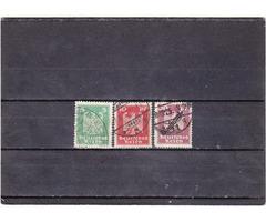 Német birodalom forgalmi bélyegek 1924