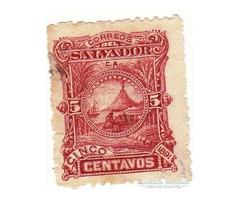 El Salvador forgalmi bélyeg 1891