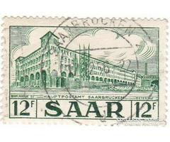 Saarland forgalmi bélyeg 1951