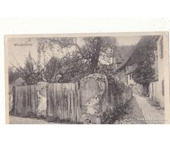 Képeslap Német tábori posta 1917