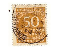 Német birodalmi bélyeg 1923