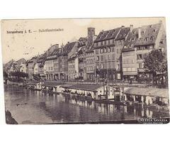 Képeslap Német tábori posta 1915