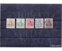 Német birodalom forgalmi bélyegek 1902