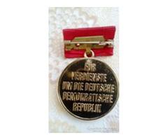DDR emlékérem 1988